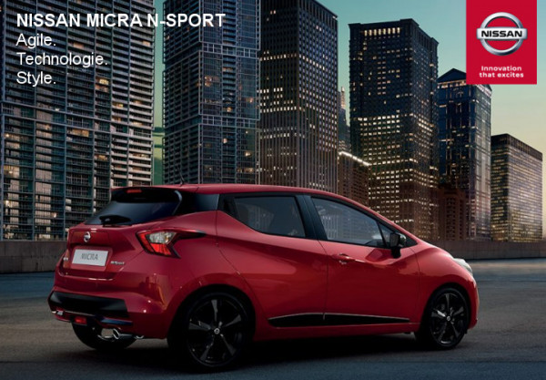 Nissan Micra N-SPORT. - Concession NISSAN Pamiers