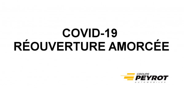 INFORMATION - COVID19 - Concession NISSAN Pamiers